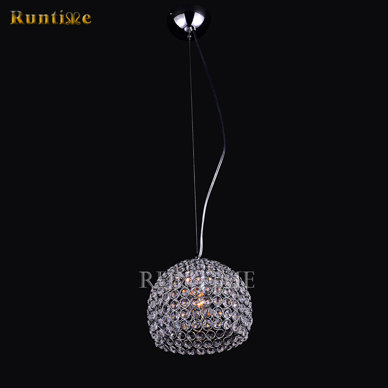 Hemispherical Metal Frame + K9 Crystal Chandelier RT1355-1