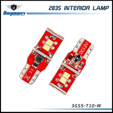 2017 new arrival super canbus led 2835smd 200lm car interior light 5w 14v T10 door lamp with oem