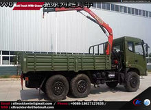 3 axles 6x6, 6*6 10 tons crane mounted truck for sale