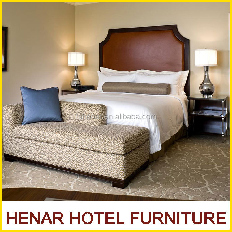 Henar Customized commercial luxury 5 star hotel the bedrooms furniture 5 star hotel equipments