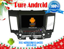 car dvd FOR Mitsubishi Lancer (2007-2012) Android 4.4 RDS,head device,Multimedia ,3G,wifi,support back up camera