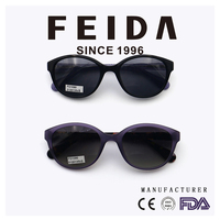 FD1090 Fashion Acetate Frame Sunglasses Hot
