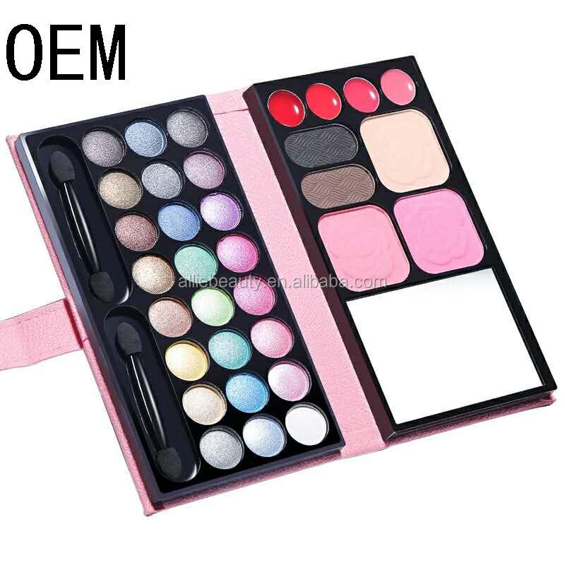 OEM Wholesale makeup products 78 colors earth tone makeup multi colored eyeshadow palette
