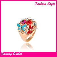 Gold Casual Womens Rings