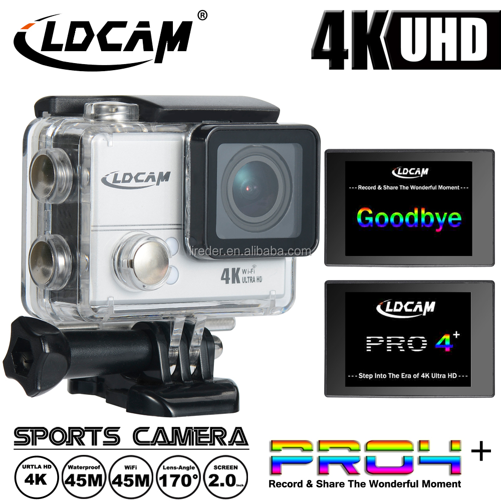 Waterproof wifi mini Real 4K Full HD 1080P Action Camera With Waterproof Housing