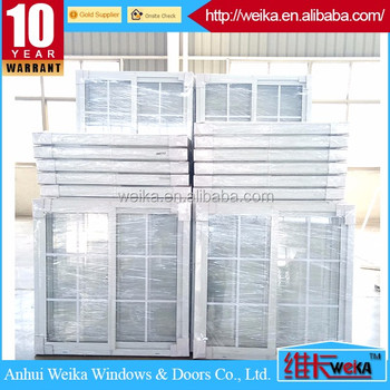 hot sale UPVC profile wood color PVC sliding window /doors and windows factory