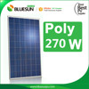 Poly 60 cells 270w 260w poly panel solar for solar system