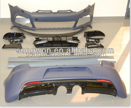 OEM parts for vw Golf 6 R20 style body kits