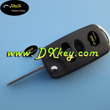 Hot selling 3 buttons Corolla Vios remote key shell for key for toyota corolla