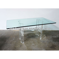 acrylic furniture acrylic coffee/tea table at bedroom or office