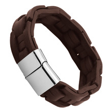2014 china manufacturer wholesale tan leather bracelet