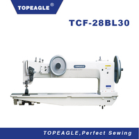 TOPEAGLE TCF-28BL30 double needle long arm sewing machine industrial
