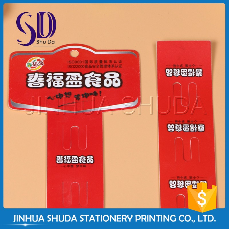 2016 Best salling Factory Customizd Clip Strip Display