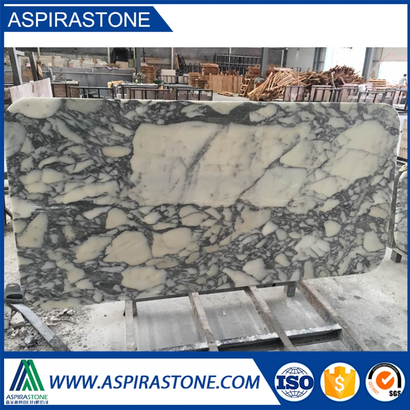 chinese white marble arabescato marble table top
