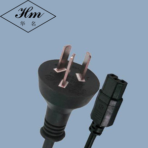 IRAM 2073 Argentina AC Power Cord 3 Pin IEC C15 with H05VV F Wire