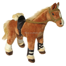 custom stuffed plush horse toys