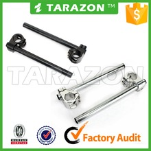 "Motorcycle Clip On 7/8"" CNC Handlebar 33/34/35/36/37/38/39/41/43/45/48/50/51/55 mm Fork Tube Replacement Bars"