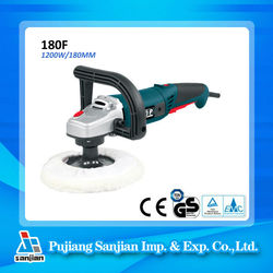 Angle Polisher 1200W 180MM Power Tools Car buffer polisher 180F