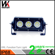 Innovation 2017 30w 6 inch CE&ROHS approved single row led light bar with side lights,Deutsch connector