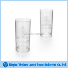 PS 40ml clear novelty plastic beer drinking cups