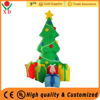 Wholesale cheap price customized 7ft gemmy lighting Inflatable christmas tree