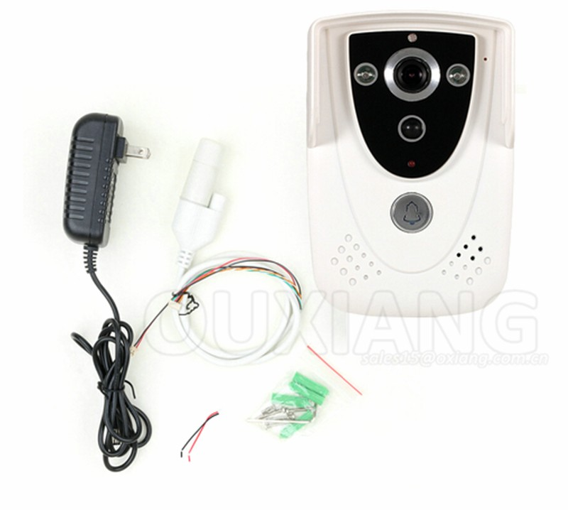 Home Security 2.4G Wireless Video Door Phone real time video Intercom wifi doorbell