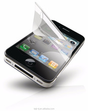 198HD-3 Transparent Matte plastic screen protector for iphone5