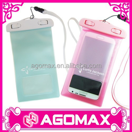 Custom made fashion plastic waterproof mobile phone case