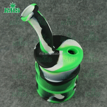 silicone container for oil wax oil barrel