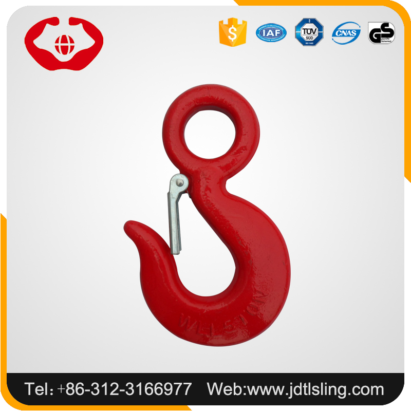 HB Factory hot sale forged galvanized crane lifting eye hook