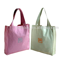 Large Tote Capacity cloth Cotton Shopping Bag Canvas Bag for Women and Girls