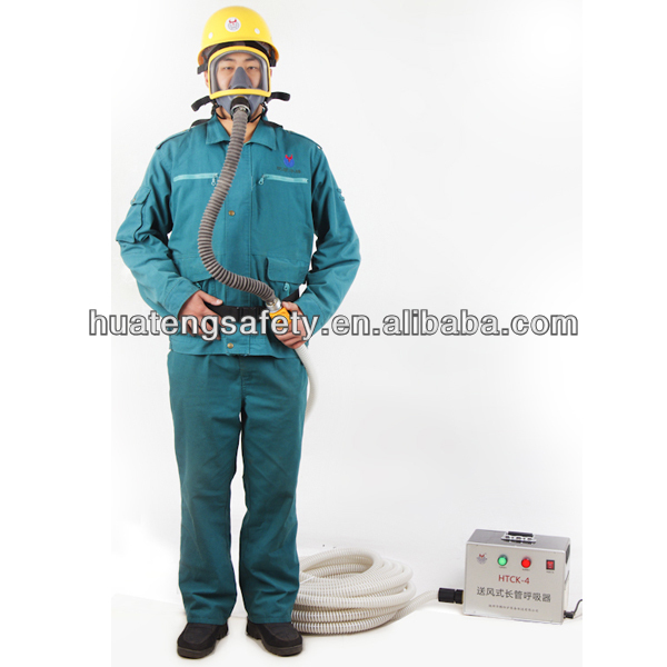 HTCK-4 Full Face Air Hose Respiratory Mask Equipment