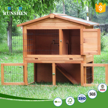 Two Layers Rabbit Cages Indoor Wire Rabbit Cages Hutches For Rabbits