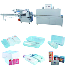 Automatic heat shrink wrapping machine for toys