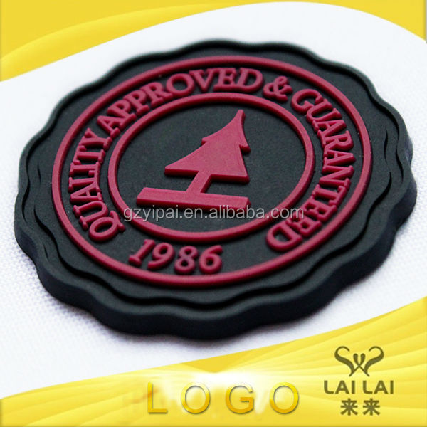 New design plastic embossed logo luggage name tags pvc