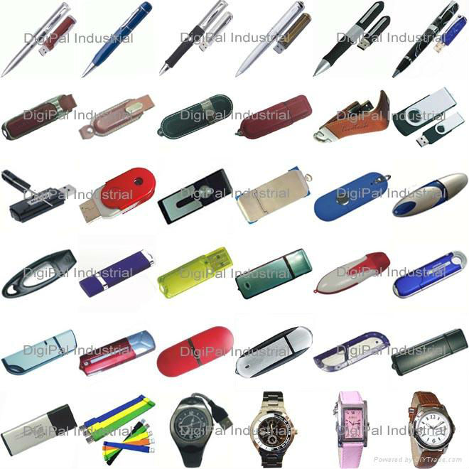 500 USB Flash Drives - Various Types, Ready to Customize