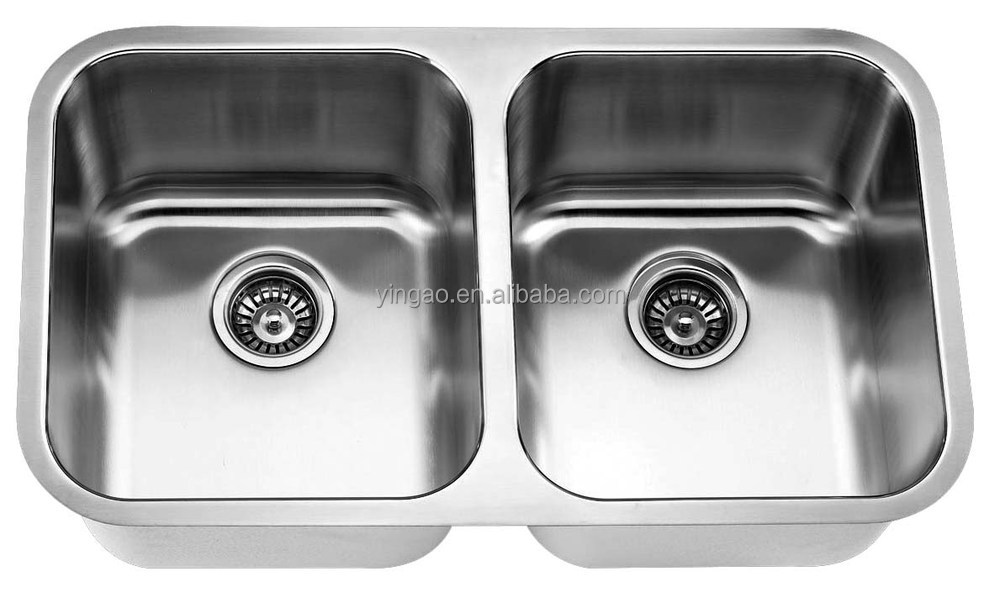 Wholesale commercial 304 stainless steel kitchen sink for hotel