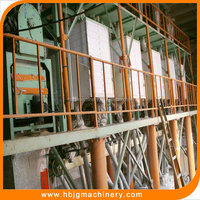Used low price flour mill plant machinery for low gluten wheat flour