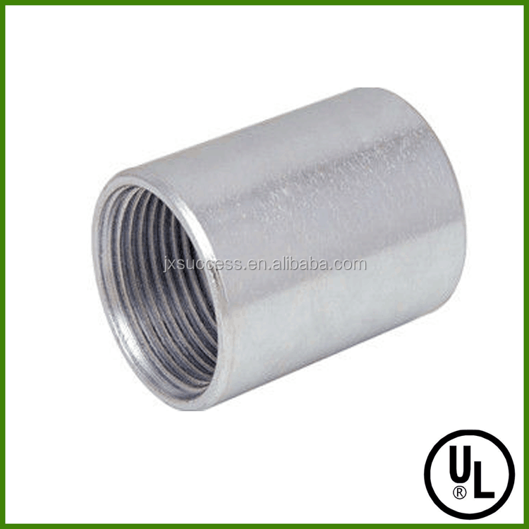 UL listed Hot dip galvanized steel conduit rigid coupling