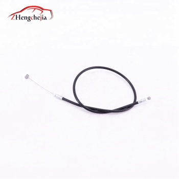Auto spare part engine hood lock push cable for Geely SC7 FC 1068000218