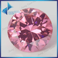 China Supplier Swiss Cut Loose Round CZ Stone Synthetic Diamond
