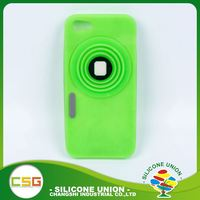 Excellent retractable camera non-stick silicone waterproof 5.5 inch mobile phone case