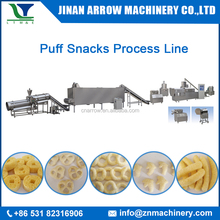 Small scale inflating snacks food machine for puffed ring