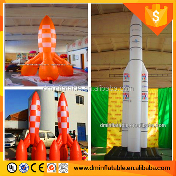 Giant inflatable rocket Type Giant inflatable rocket