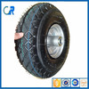 Qingdao used wheel rubber tyre 10x3.50-4,10x3.50-4 trolley wheel