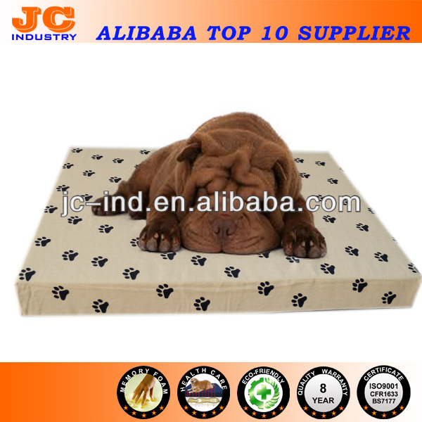 Dog Paw Print Dog Print Cushion