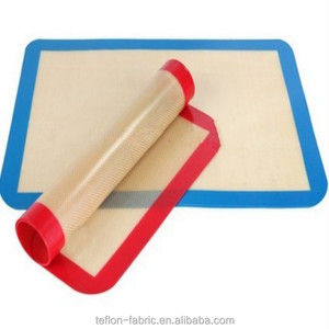 Food Grade Wholesale Reusable FDA Grade Non-Stick Custom Silicone Baking Vegetable Oven Mat