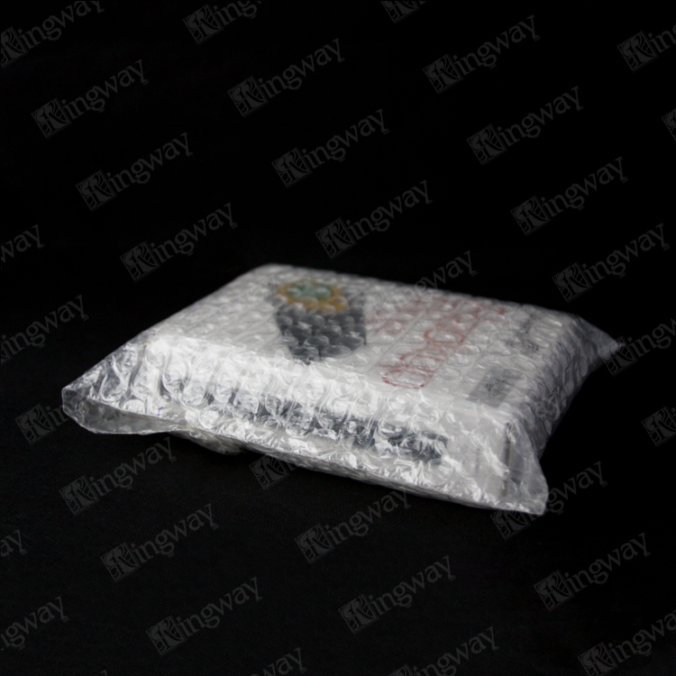 Air custom packaging machine price clear self-adhesive plastic bubble bags