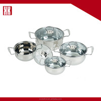 Surgical Large Cooking Pots And Pans Stainless Steel Cookware Set