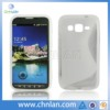 Popular s slide soft gel tpu cover case for SAMSUNG GALAXY S4 Active mini I8580